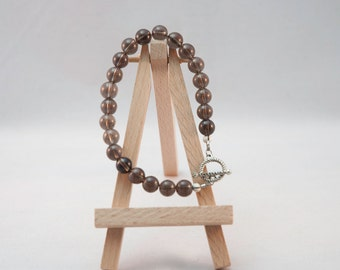 Gemstone Bracelet - Smokey Quartz