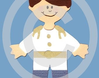 Prince Charming Scrapbook Die Cut Paper Doll Project Life