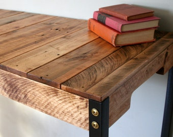 standing desk industrial rustic reclaimed wood standing desk craft table with iron legs made to
