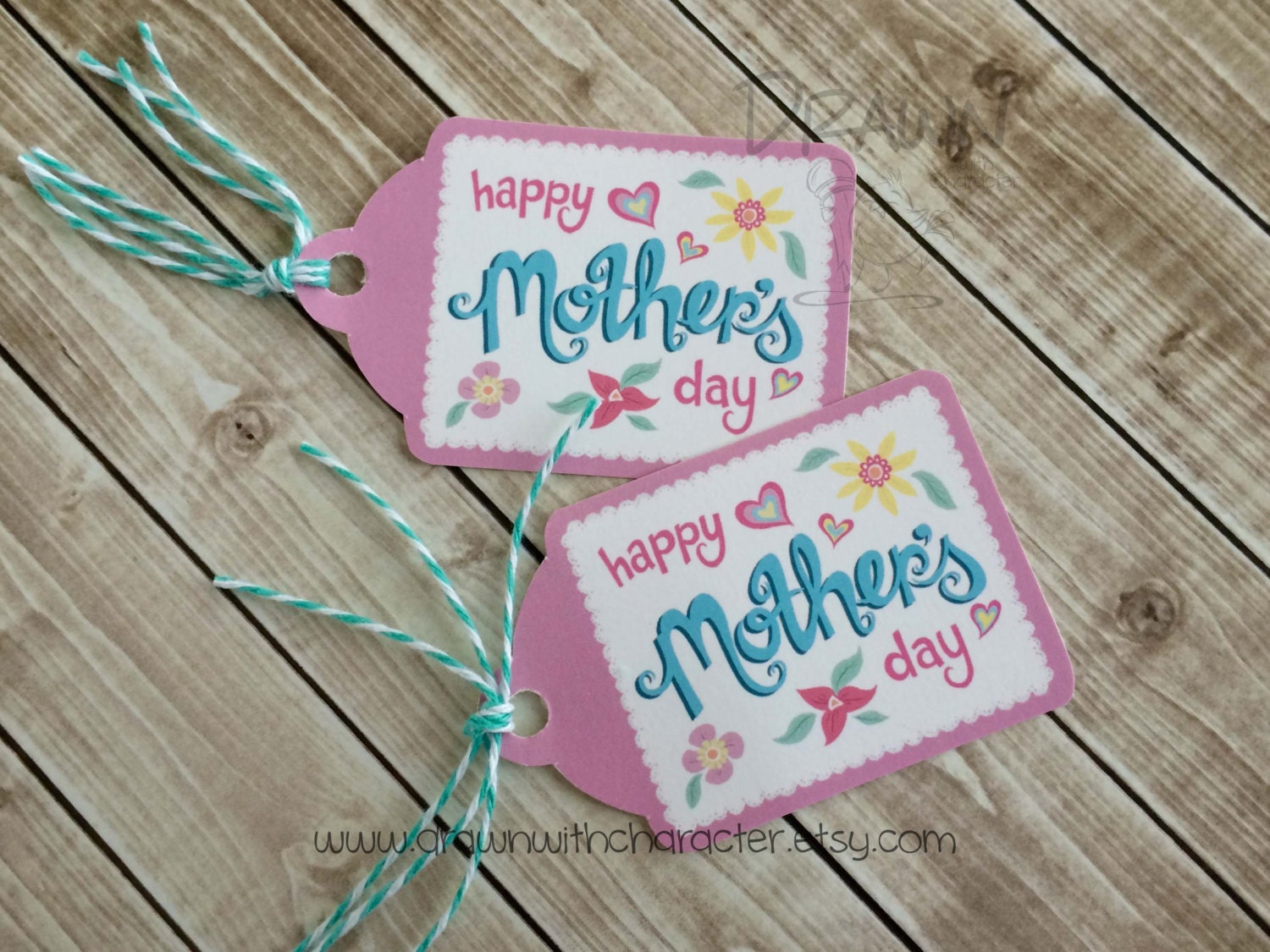 Mother S Day Tags: Happy Mother's Day Printable Decorative Tag Birthday