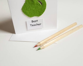Handmade Teacher Card