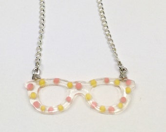 Sweet glasses necklace