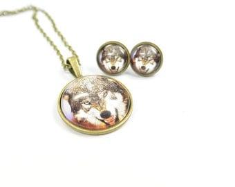 Set jewelry Wulf
