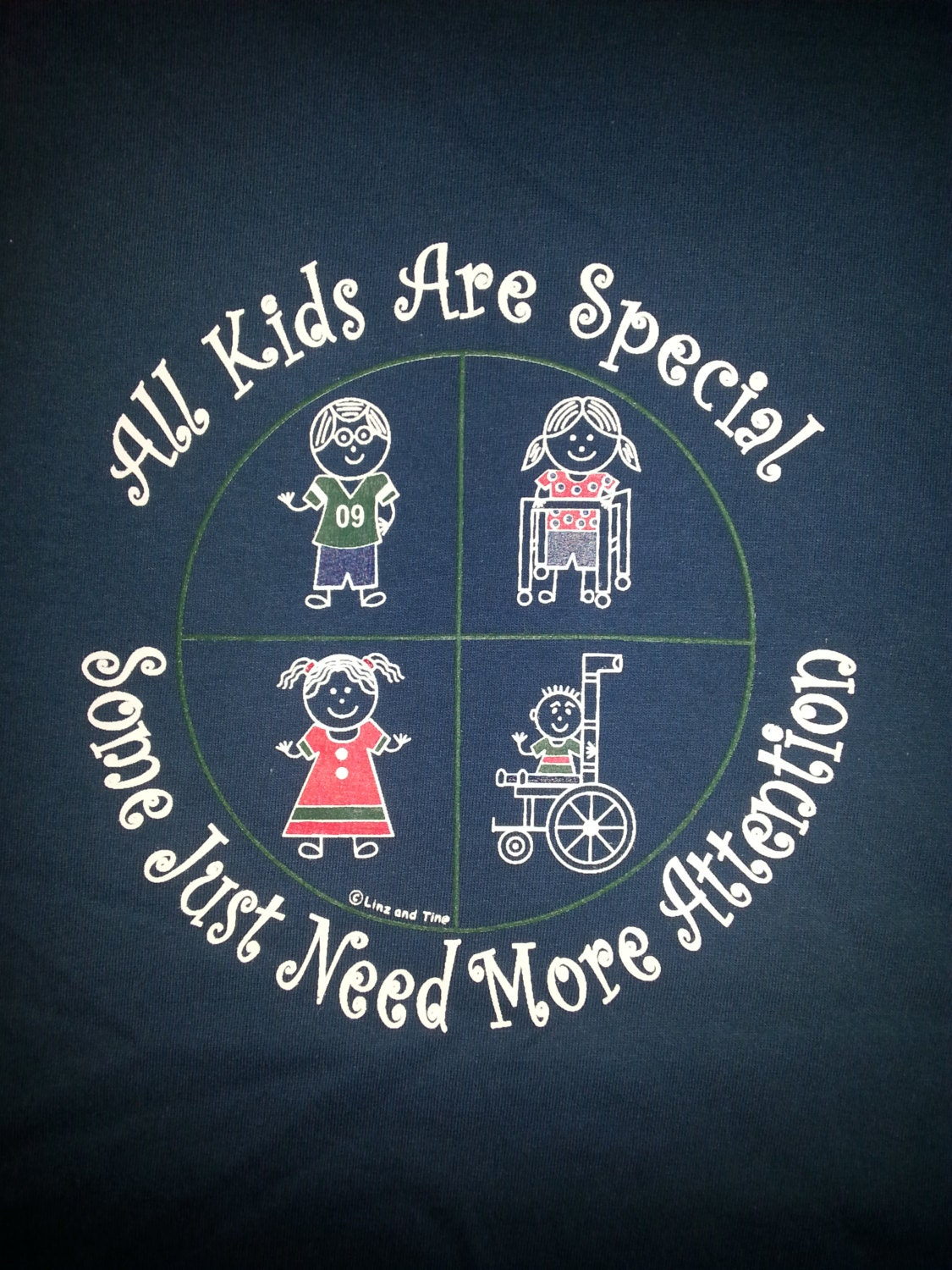 Special Education T Shirts Screen Printed With High Quality