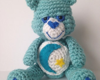 Crochet Care Bear.  Choose any bear!