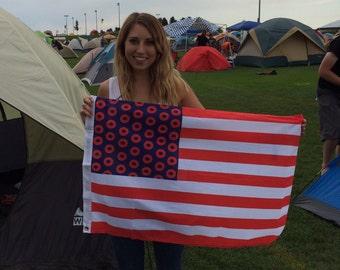 Phish Jon Fishman American Flag Fishman Flag