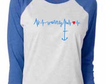 Westerly Heartbeat Tee