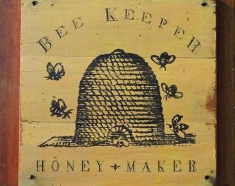 Bee Keeper Sign