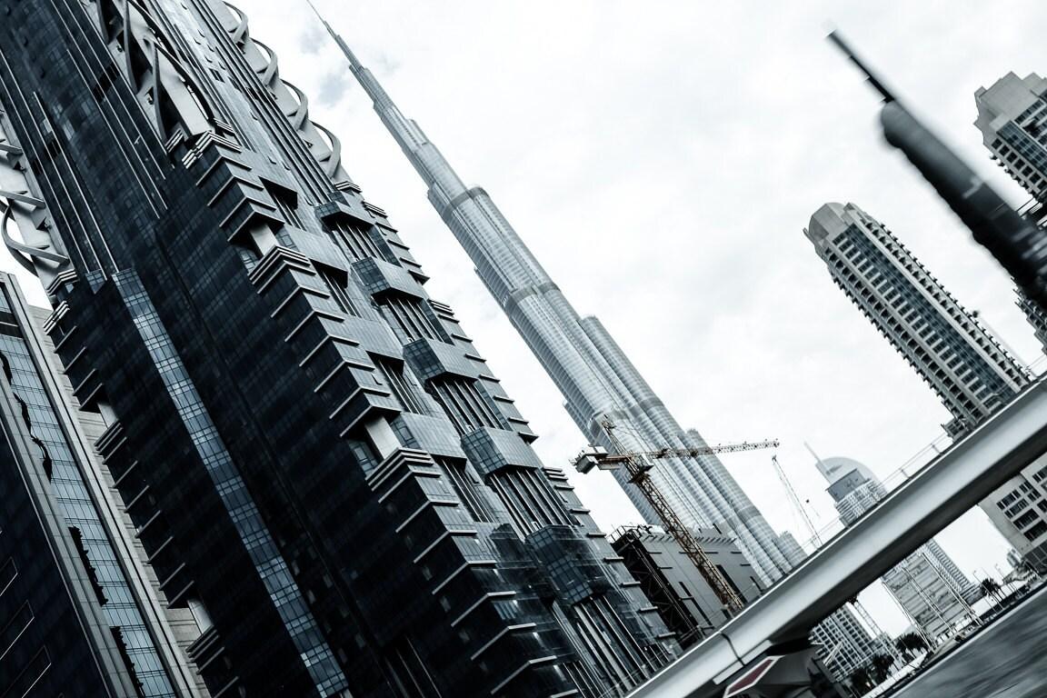 Torre Burj Khalifa fotografía de viajes Dubai Emiratos
