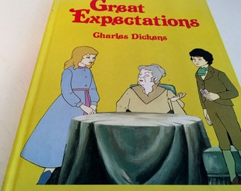 Great Expectations by Charles Dinkins - Adapted by Richard Widdows - Gallery Book 1985