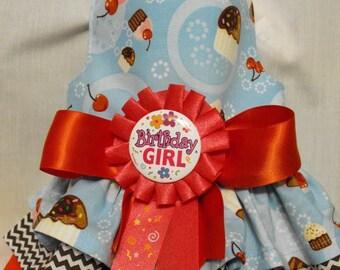 cupcake birthday dress