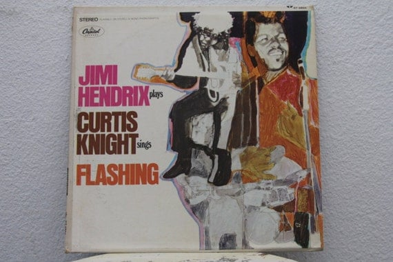 Jimi Hendrix And Curtis Knight Flashing Vinyl