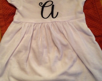 Applique dress made to order
