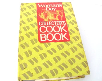 Vintage Cookbook, 1970's Woman's Day Collector's Cookbook, 1970's Recipes, Vintage Recipes, Old Cookbook, Cooking Encyclopedia