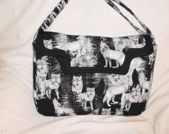 Wolf computer bag