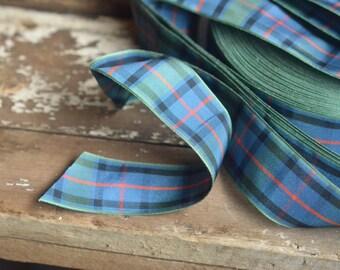 edinburgh tartan plaid ribbon