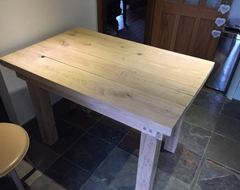 Oak dining - Kitchen table