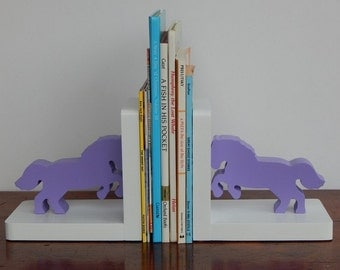 Handmade Horse/Pony Bookends - Children, Nursery Bookends