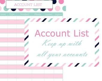Account List