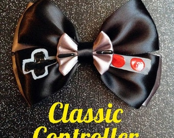 Classic NES Controller inspired bow