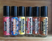 TWO Perfume Oils - Choose TWO of Your Favorite Scents- Natural Perfume- Artisan Perfume Oil- 20 ml. - 1/3 oz.