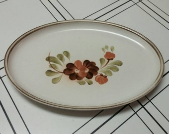 On Sale Denby Langley Made in England 12 inch Serenade Oval Serving Platter or Dish