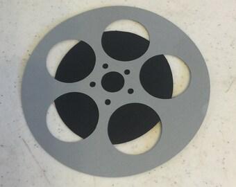 """5 5"""" Movie/Film Reel Die Cut"""