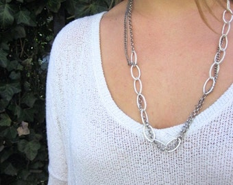 Multiple Chain Necklace