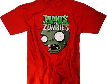 Plants vs Zombies T-Shirt Plush Toys Figures Xbox 360 Merchandise Clothing Youth