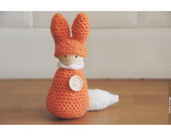 Bonhanimaux amigurumi crochet Fox