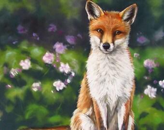 Curiosity  Original painting in Soft pastel