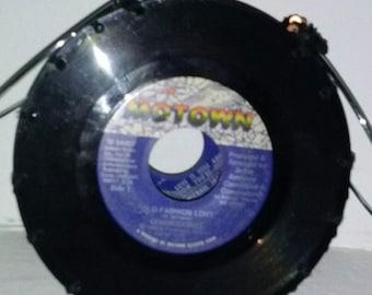 Motown Night-On-The-Town Handmade Vinyl Record Purse
