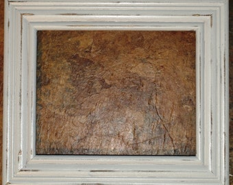 "F003 2"" White Distressed Picture Frame"