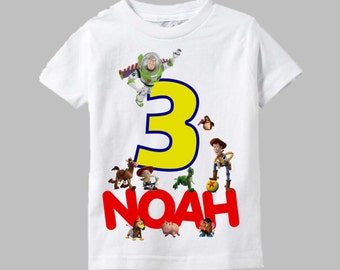 Toy Story Birthday Shirt - Toy Story Shirt