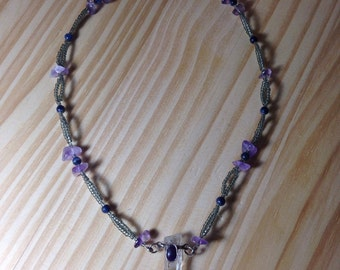 Amethyst Dream Beaded Necklace