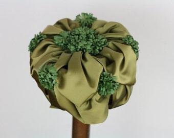 Vintage Flower Fairy Hat
