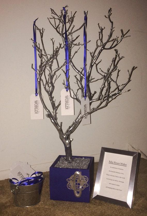 manzanita baby shower wish tree
