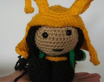 Pocket Amigurumi Loki