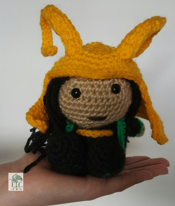 Pocket Amigurumi Loki