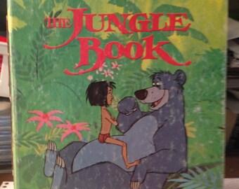 Handmade Disney's Little Golden Book The Jungle Book Art Journal (FREE Shipping)