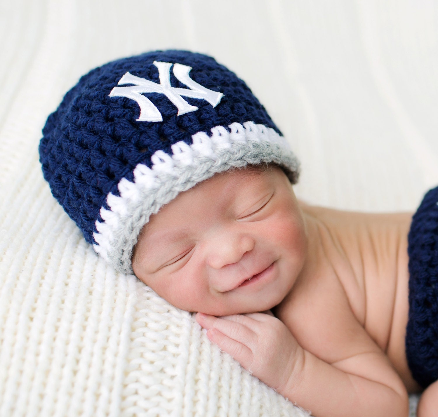 Baby Yankees Hat Baby Girl Hat Baby Boy Hat By