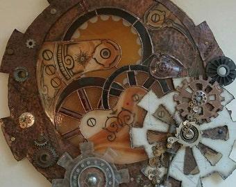 Steam punk clock work