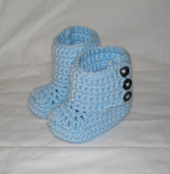 ... Crochet Wrap Baby Boots, Crochet Baby Uggs, Crochet Baby Shoes, 6 - 12