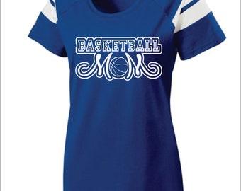 short sleeve all star baseball mom tshirt