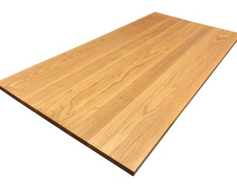 Red Oak Tabletop - Custom Sizes Available