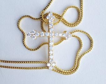 Diamond Cross (Cross Pendant)
