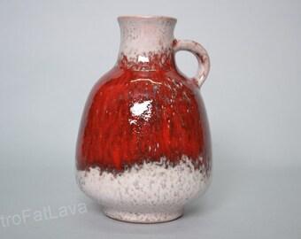 Karlsruhe Majolika ceramic  vase - Germany  - 9013