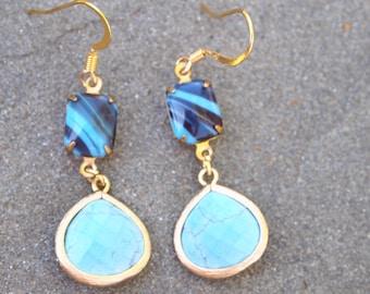 Got the Blues: Dangle/Drop Earring