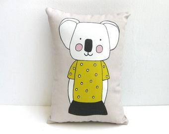 Koala Cushion, Koala Throw Pillow, Koala Pillow, Animal Cushion, Animal Pillow, Decorative Cushion, Decorative Pillow
