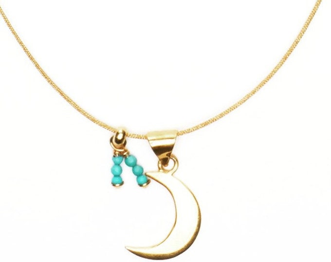 Collar Blue Moon